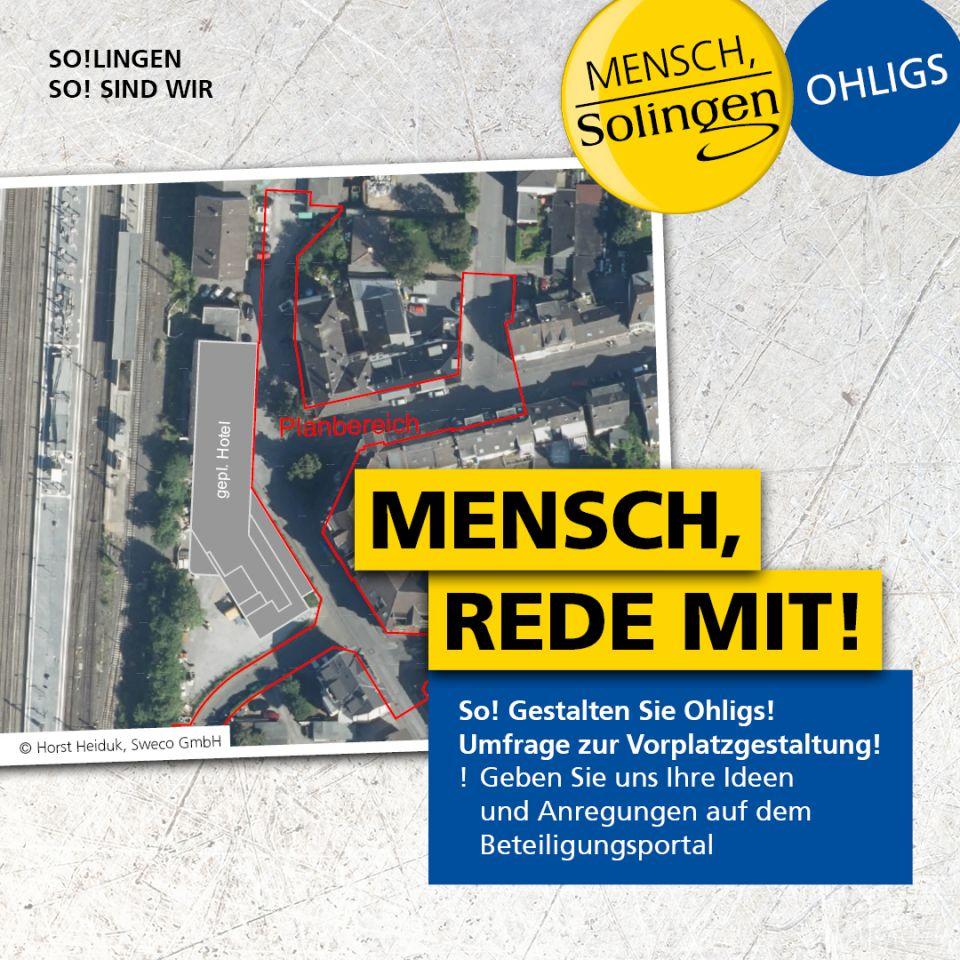 Dialog Bahnhofsvorplatz Ohligs Ost