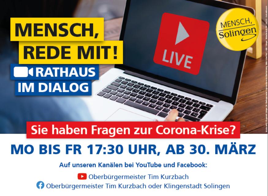 Rathaus im Dialog Live Chat