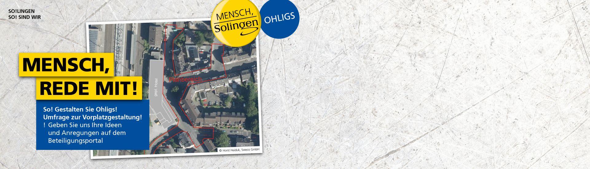 Bahnhofsvorplatz Solingen Ohligs Ost